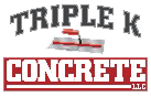 Triple K Concrete, LLC., Logo